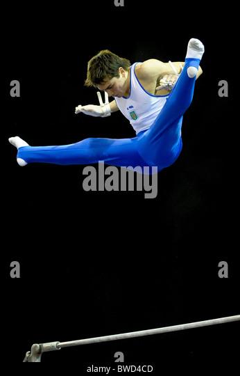 21.11.2010 Gymnastics Grand Prix from Glasgow. - Stock Image