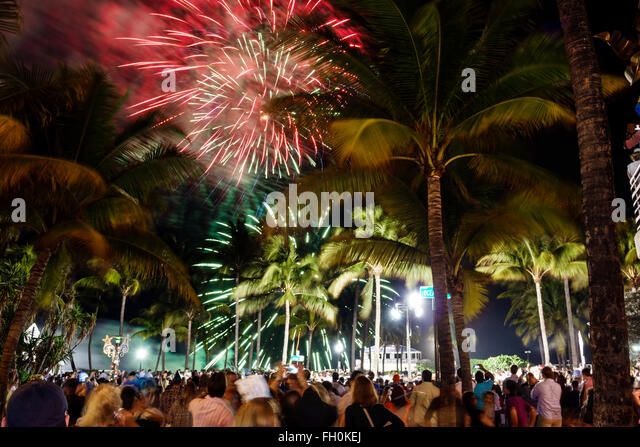 Palm Beach New Years Eve Fireworks