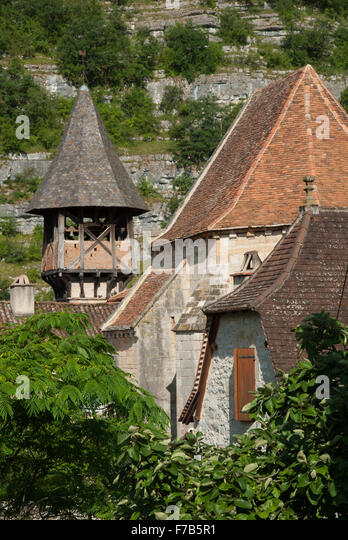 Sainte Eulalie, Célé Valley, France - Stock Image
