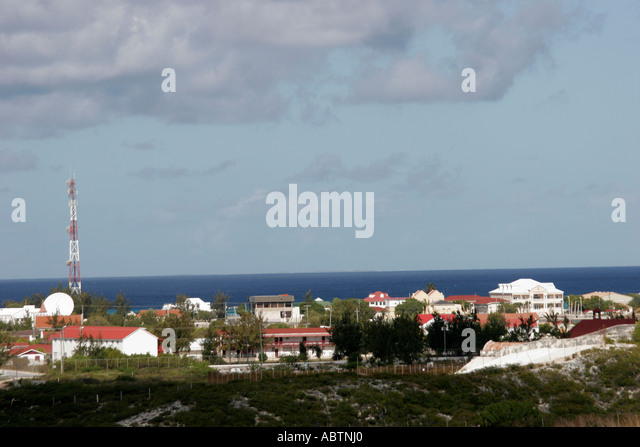 Grand Turk Cockburn Town Turks Island Passage - Stock Image
