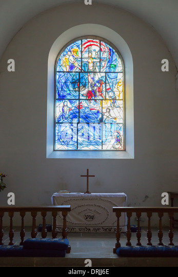 All Glass Windows : Saints church tudeley kent england stock photos