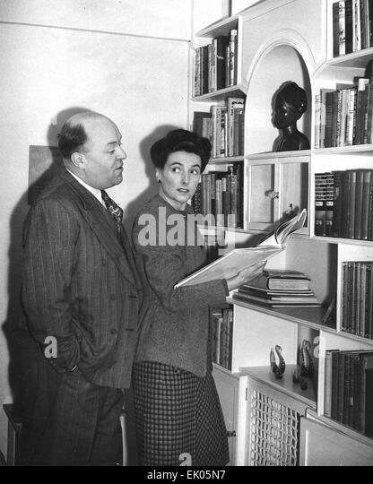 SIDNEY and MURIEL BOX English film producers about 1945 - Stock Image