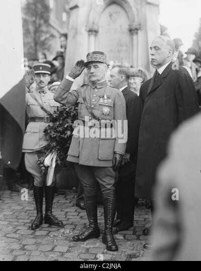 Marshal Foch - Stock Image