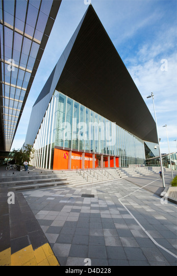 Melbourne Convention Exhibition Centre. Melbourne, Victoria, Australia - Stock Image