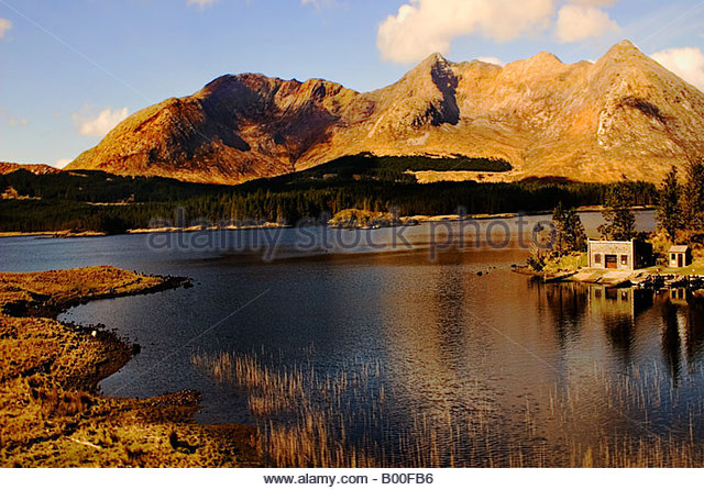 twelve pins mountains landscapes water - Stock-Bilder