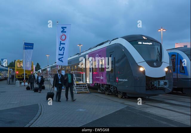 Berlin, Germany, Electrical Multiple Alstom - Stock Image