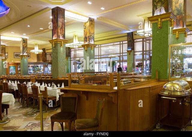 La Coupole restaurant Paris France - Stock Image