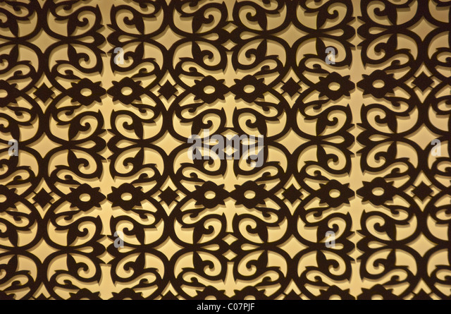 Detail of a carpet - Stock Image