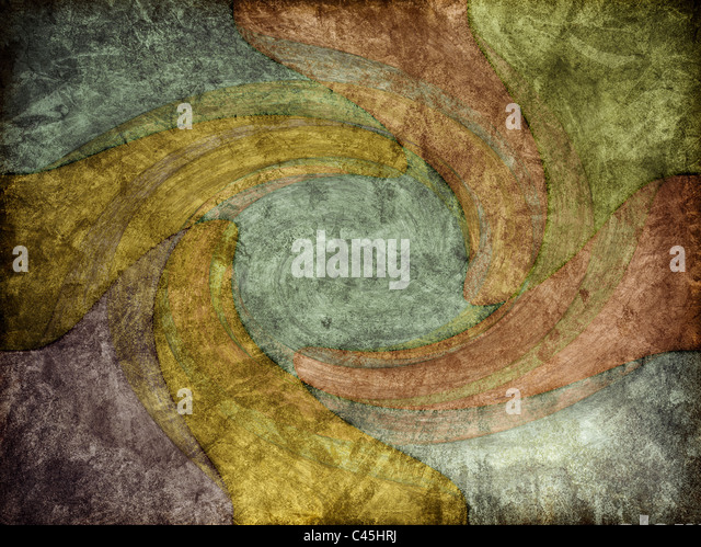 A modern-art style of background texture with swirling colors. - Stock-Bilder