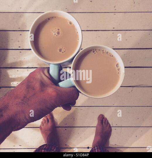 Morning Tea - Stock-Bilder