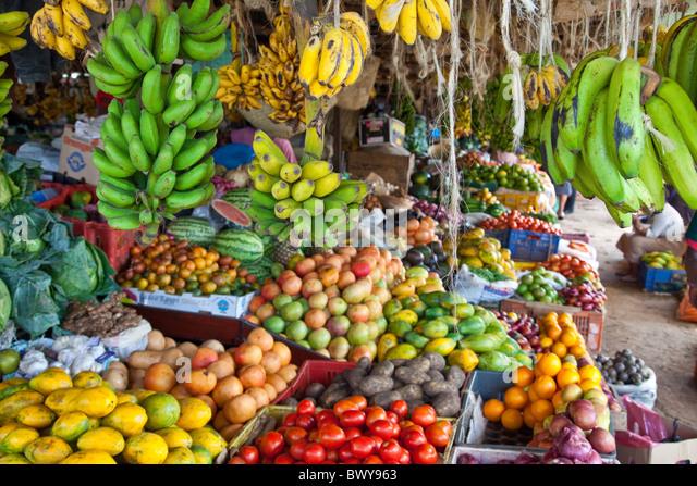 New Ngara City Park Hawkers Market, Nairobi, Kenya - Stock Image