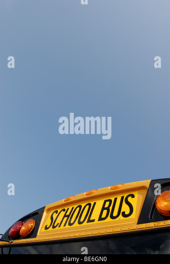 School bus - Stock Image