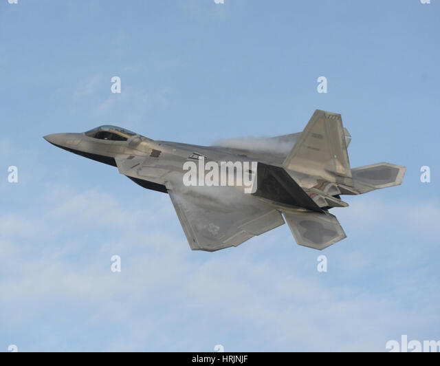 Lockheed Martin F-22 Raptor, 2016 - Stock Image