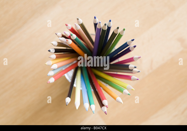 Coloured pencils - Stock Image