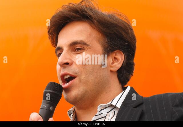 May 22, 2010 - Irvine, California, USA - Comedian ANT gives humorous motivational talk at the 24th annual AIDS Walk - Stock Image