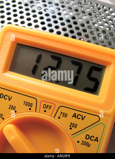 Who Makes Digital Multimeters : Dmm make stock photos images alamy