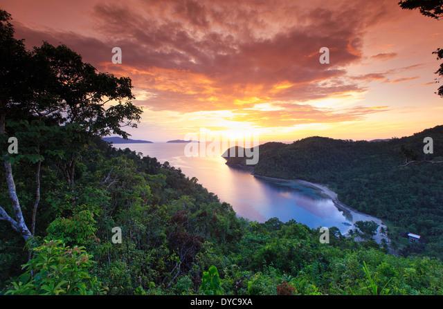 Philippines, Palawan, Port Barton, Turtle Bay - Stock Image