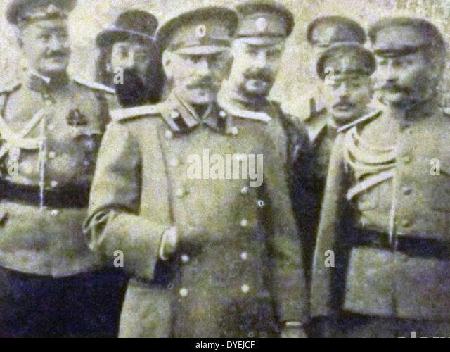 General Nikolai Vladimirovich Russki general of the Russian army - Stock Image