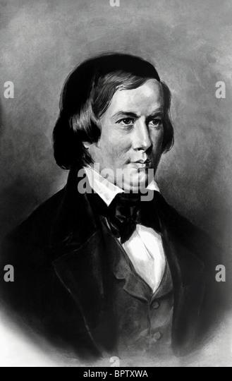 ROBERT SCHMANN MUSIC COMPOSER (1850) - Stock-Bilder