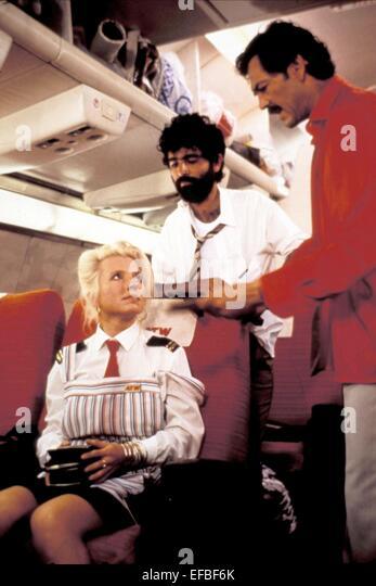 HANNA SCHYGULLA DAVID MENACHEM & ROBERT FORSTER THE DELTA FORCE (1986) - Stock Image