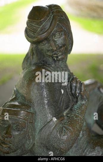 Robin Hood brass - Stock Image
