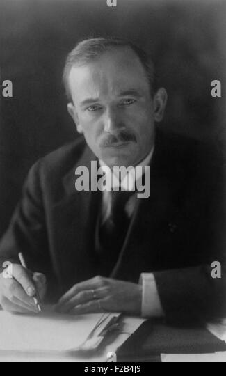 Dr. Edvard Benes, President of Czechoslovakia from 1935-1938 and again from 1940-1948. - (BSLOC_2015_1_38) - Stock Image