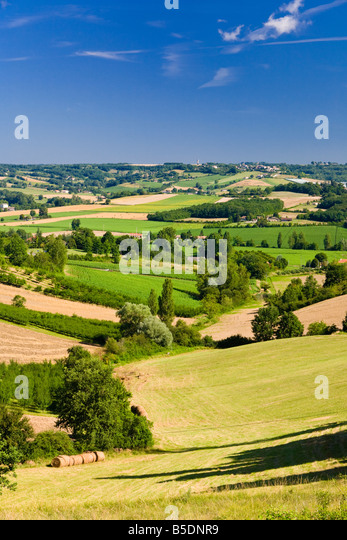 Tarn et Garonne - French countryside France, Europe - Stock-Bilder