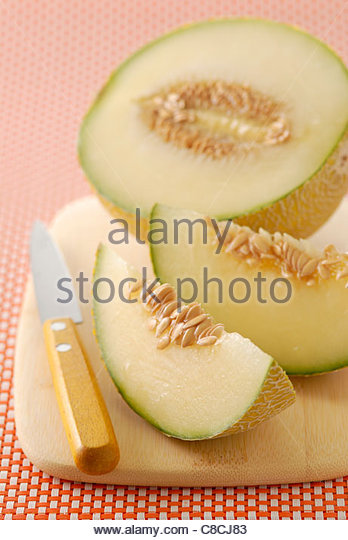 Galia melon - Stock Image