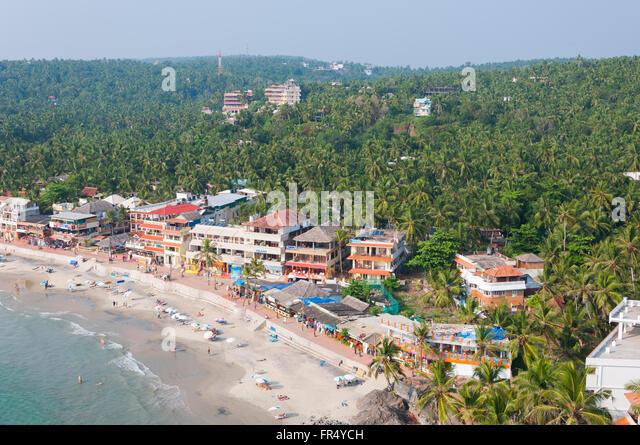 Kovalam Beach Resorts - Stock-Bilder