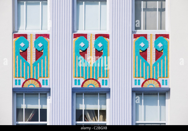 Cavalier Hotel, South Beach, Miami - Stock Image