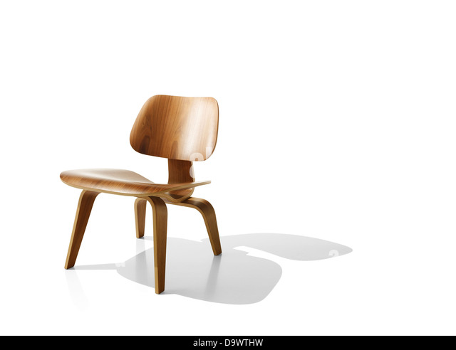 Chair on white - Stock Image