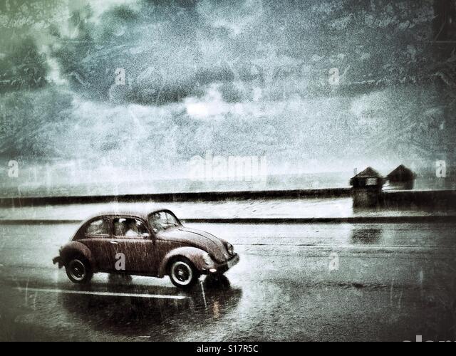 Old version beetle in Havana - Stock-Bilder