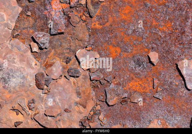 Metal Rust Corroded Texture - Stock Image