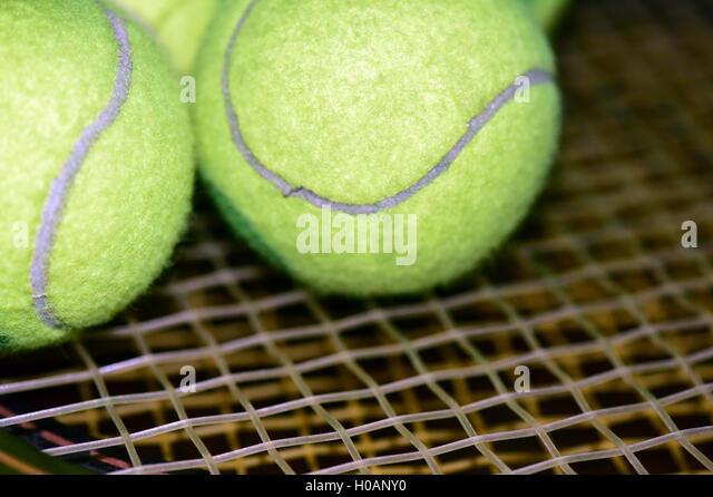 Tennis - Stock Image