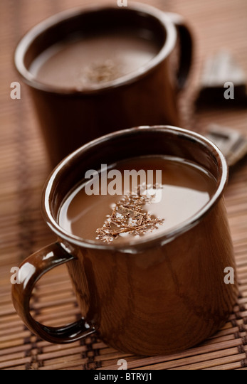 hot chocolate - Stock Image