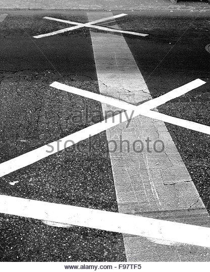 Detail Shot Of Road - Stock-Bilder