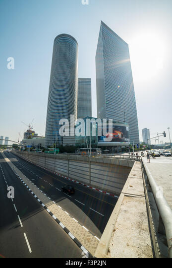 A walk in Tel Aviv, Israel - Stock Image