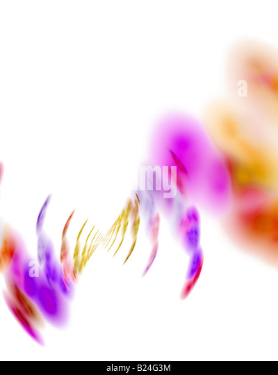 Abstract fractal artwork that makes a great high tech art element or background for any design project - Stock-Bilder
