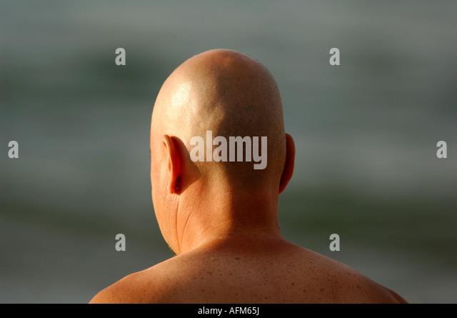 how to get a shiny bald head
