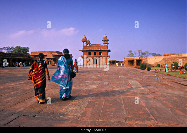 Fatapur Sikkri, Agra, India - Stock-Bilder