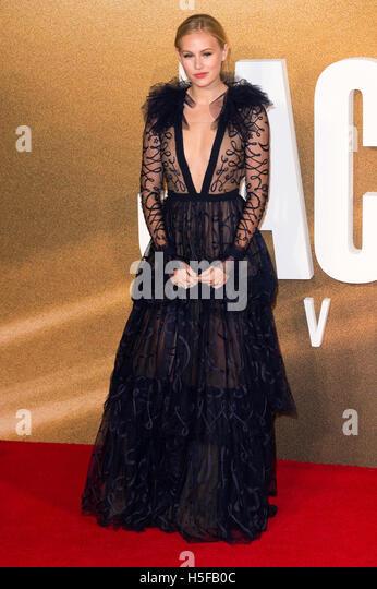 London, UK. 20th October, 2016. Danika Yarosh attends the European film premiere of Jack Reacher: Never Go Back. - Stock Image