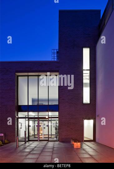 Millburn House at the University of Warwick. - Stock Image