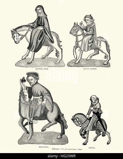 the vices of the clergy in geoffrey chaucers the canterbury tales In the canterbury tales, geoffrey chaucer primarily satirizes the corruptness of the clergy members to show how the catholic church was beginning its decline during the middle ages chaucer aptly creates a picture that exposes how materialistic the clergy is.