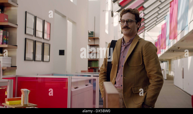 HER (2013) JOAQUIN PHOENIX SPIKE JONZE (DIR) MOVIESTORE COLLECTION LTD - Stock Image