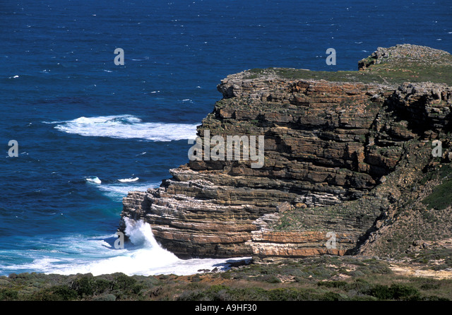 South Africa Cape of Good Hope Cape Peninsula National Park - Stock Image