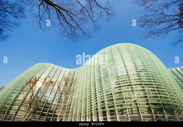 Asia, Japan, Tokyo, Roppongi ward, National Art Centre, NACT, designed by Kisho Kurokawa (2007) - Stock Image
