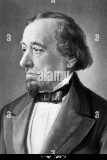Benjamin Disraeli - Stock Image