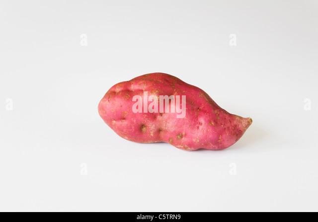 Sweet potato (Pomoea batatas) - Stock Image