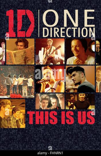 ONE DIRECTION HARRY STYLES NIALL HORAN ZAYN MALIK LOUIS TOMLINSON & LIAM PAYNE ONE DIRECTION: THIS IS US (2013) - Stock-Bilder