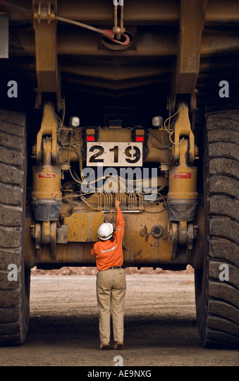 how to become a dump truck driver in the mines